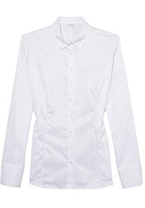 ETERNA dames blouse slim fit, wit