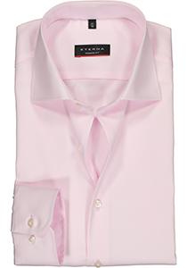 Eterna Modern Fit overhemd, roze twill