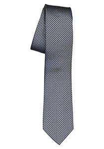 ETERNA smalle stropdas, groen structuur