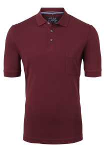 Marvelis Modern Fit poloshirt, Quick Dry, bordeaux rood
