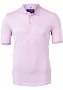 Marvelis Modern Fit poloshirt, roze melange