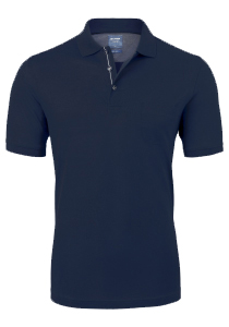 OLYMP modern fit poloshirt, donkerblauw