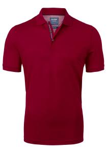 OLYMP modern fit poloshirt, bordeaux rood