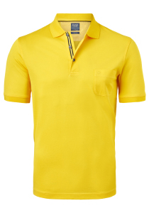OLYMP modern fit poloshirt, geel