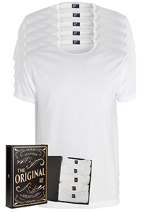 ALAN RED T-shirts Derby Gift Box (5-pack), wit