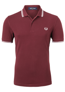 Fred Perry M3600 shirt, polo Port / White / White