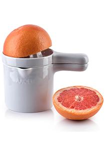 Mondex Modern Life citruspers, wit porselein, mok met pers