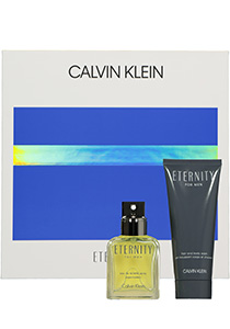 Heren cadeauset: Calvin Klein Eternity Eau de Toilette 50ml + showergel 100ml