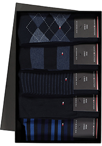 Cadeaubox: 10 paar Tommy Hilfiger Blue sokken