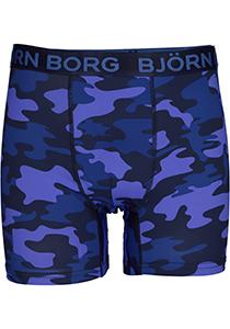 Bjorn Borg Boxers Performance microfiber, blauw camo print