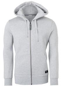 Bjorn Borg hoodie jacket sweatvest (dik), lichtgrijs melange