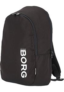 Bjorn Borg Core backpack, unisex rugzak, zwart
