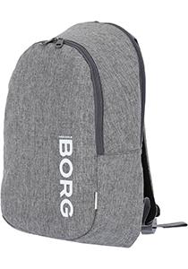 Bjorn Borg Core backpack, unisex rugzak, grijs melange