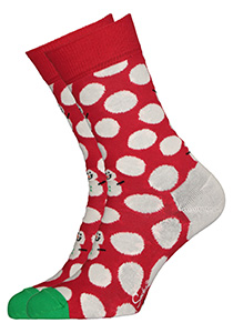 Happy Socks Big Dot Snowman Sock
