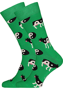 Happy Socks Ying Yang Cow Sock