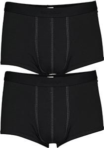 Sloggi Men 24/7 Hipster, heren boxers (2-pack), zwart