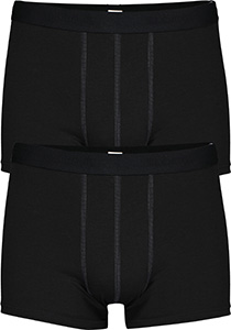 Sloggi Men 24/7 Short, heren boxers (2-pack), zwart
