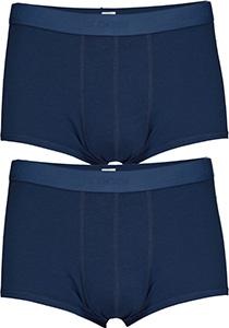 Sloggi Men 24/7 Hipster, heren boxers (2-pack), blauw