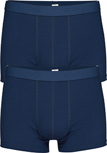 Sloggi Men 24/7 Short, heren boxers (2-pack), blauw