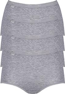 Sloggi Women Basic Maxi, dames maxi slip (4-Pack), grijs