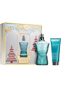 Heren cadeauset: Jean Paul Gaultier Le Male, 125ml eau de toilette spray, 75ml shower gel