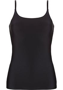 ten Cate Secrets spaghetti top (1-pack), dames hemd smalle bandjes, zwart