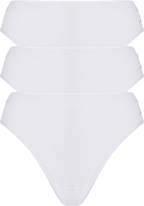 ten Cate Basic women rio (3-pack), dames slips lage taille, wit