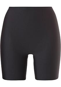 ten Cate Secrets women long shorts (1-pack), dames lange boxer middelhoge taile, zwart