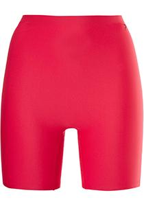 ten Cate Secrets women long shorts (1-pack), dames lange boxer middelhoge taile, rood