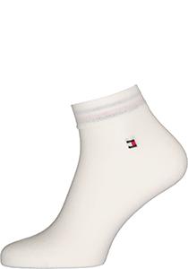 Tommy Hilfiger Quarter Socks (2-pack), herensokken katoen kort, wit