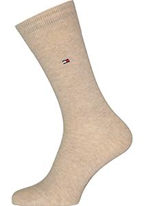 Tommy Hilfiger Classic Socks (2-pack), herensokken katoen, beige