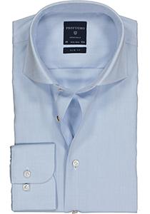 Profuomo Slim Fit overhemd, lichtblauw fine twill