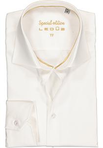 Ledûb Tailored Fit overhemd, beige