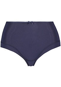 Pure Color dames maxi brief, donkerblauw
