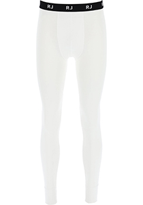RJ Bodywear thermo broek lang, wit