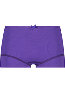 Pure Color dames short, paars