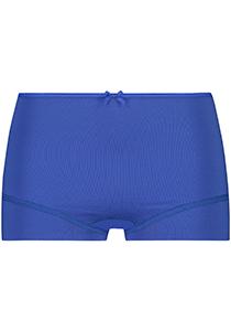 Pure Color dames short, blauw