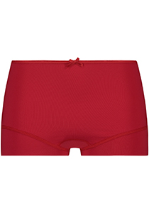 Pure Color dames short, rood