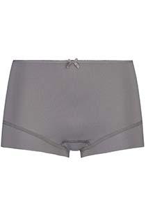 Pure Color dames short, midden grijs