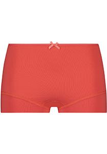 Pure Color dames short, koraal