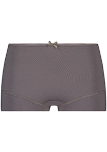 Pure Color dames short, taupe