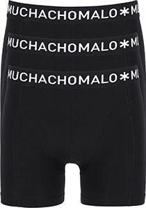 Muchachomalo boxershorts, 3-pack, zwart