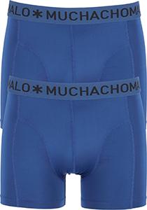 Muchchomalo Boxers Microfiber (2-pack), blauw
