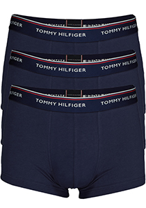 Tommy Hilfiger low rise trunk (3-pack), blauw