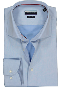 Tommy Hilfiger Core classic shirt, Regular Fit lichtblauw overhemd twill