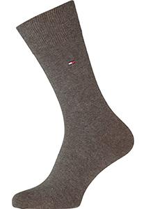 Tommy Hilfiger Classic Socks (2-pack), herensokken katoen, bruin