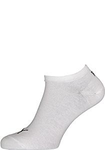 Puma unisex sneaker sokken (6-pack), wit