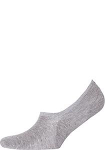 Tommy Hilfiger Footie Socks (2-pack), heren sneaker sokken katoen, onzichtbaar, grijs melange