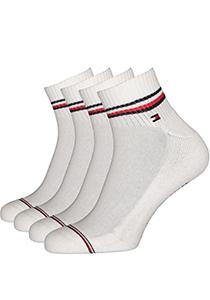 Tommy Hilfiger sneaker sportsokken (2-pack), wit