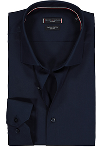Tommy Hilfiger Core stretch Slim Fit overhemd, donkerblauw